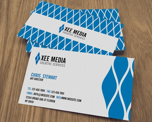 elegantbusinesscards 50 free PSD business card template designs