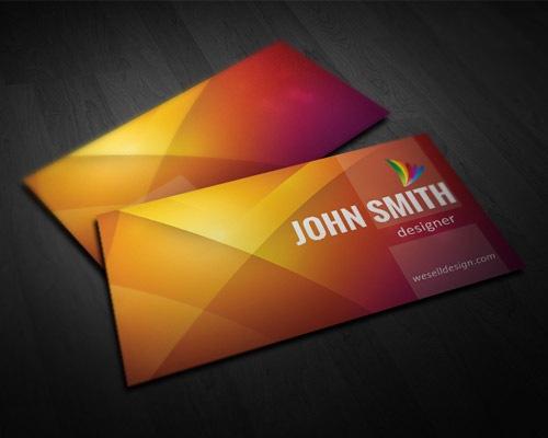 jonhsmith 50 free PSD business card template designs