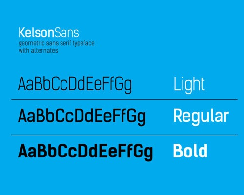 kelsonsans 50 Best Free Fonts From 2013