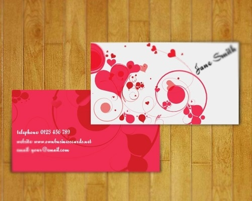 lovelybusinesscard 25 Free Business Card Design Templates