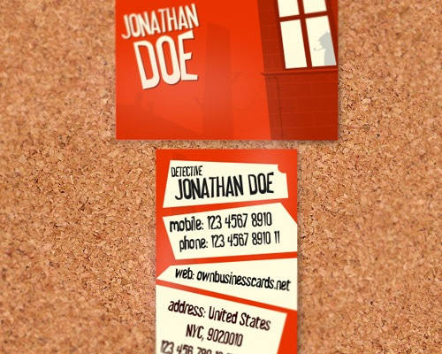 privatedetactive 50 free PSD business card template designs