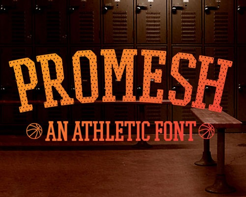 promeshfreefont 50 Best Free Fonts From 2013