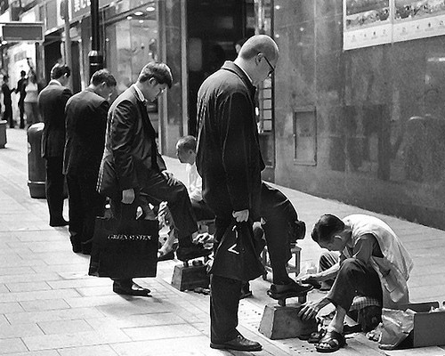 shoepolished 20 Epic Photos Which Tell Powerful Stories