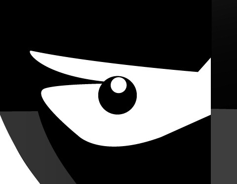 19 Draw an angry little samurai in Illustrator