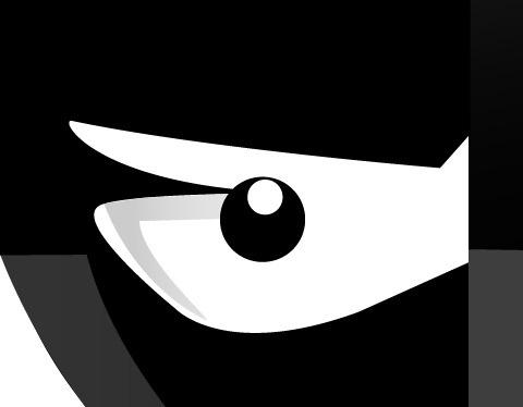 20 Draw an angry little samurai in Illustrator