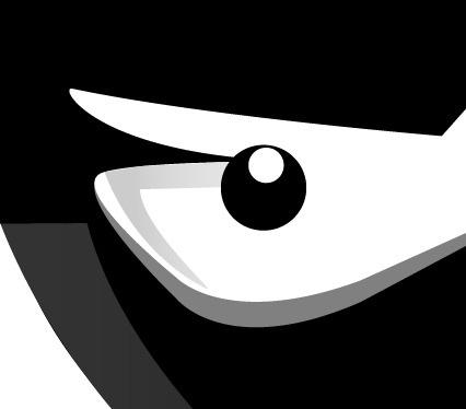21 Draw an angry little samurai in Illustrator
