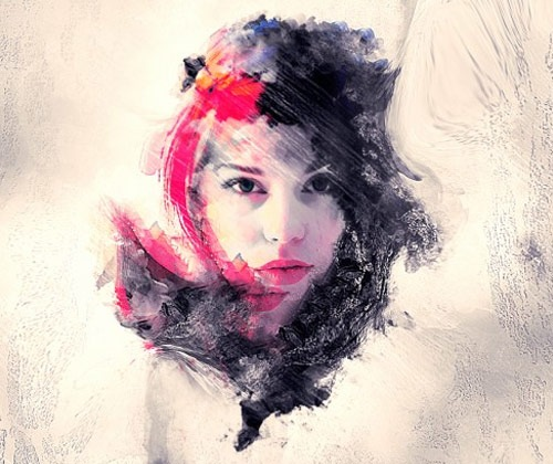 abstractbrushelementsphoto 50 Best Photoshop Fresh Tutorials From 2013
