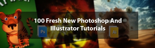 freshnewphotoshopandillustratortutorials 50 Best Photoshop Fresh Tutorials From 2013