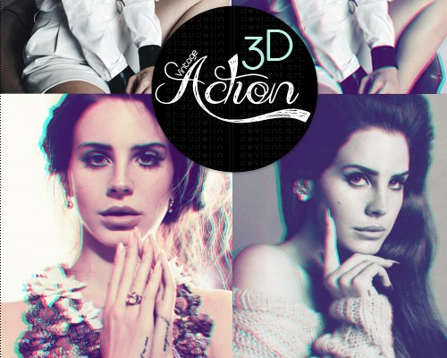 3d action thumb 25 New Free Photoshop Actions You Must Download