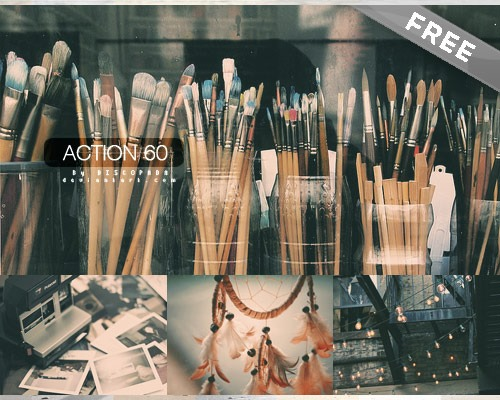 actions 60 25 New Free Photoshop Actions You Must Download