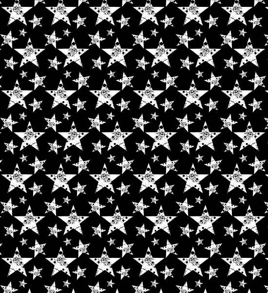 An Amazing Free Black And White Grunge Star Vector Pattern Fascinating Black Pattern