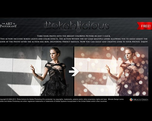 bokeh thumb 25 New Free Photoshop Actions You Must Download