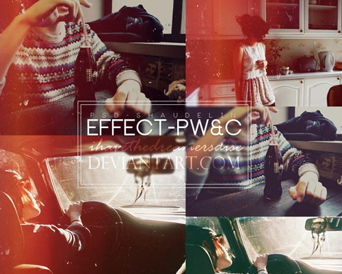 effect pwc 25 New Free Photoshop Actions You Must Download