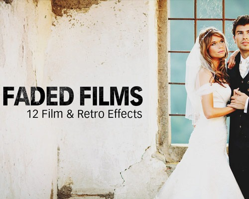 faded films 25 New Free Photoshop Actions You Must Download