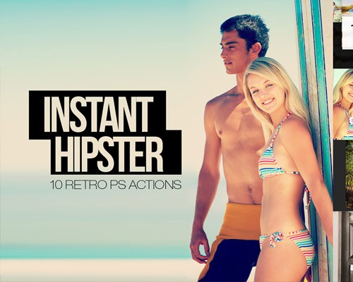 insatnt hipster thumb 25 New Free Photoshop Actions You Must Download