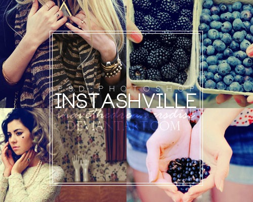 instaville thumb 100 Must download free Photoshop actions (And everything else you should know)