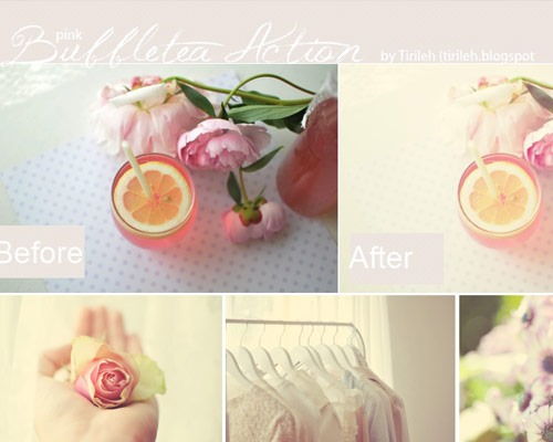 mroning light thumb 25 New Free Photoshop Actions You Must Download