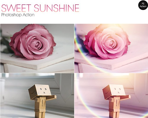 sweet sunshine 25 New Free Photoshop Actions You Must Download