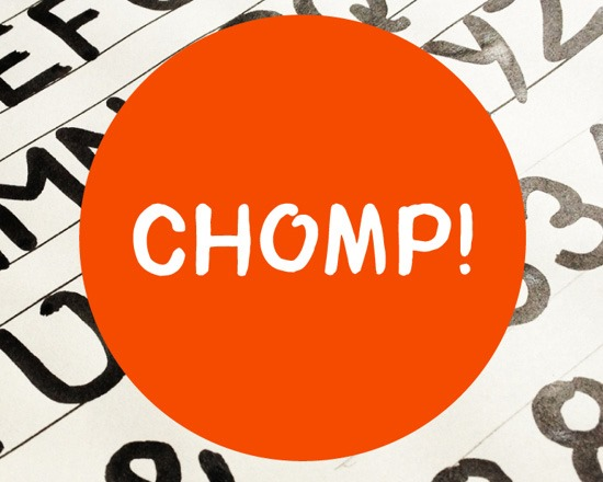 chomp thumb 50 Best Free Fonts From 2013