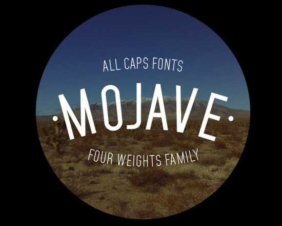 mojave thumb 50 Best Free Fonts From 2013