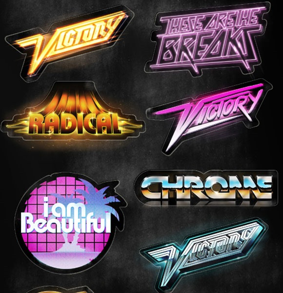 80s Designs jaw dropping 80s style neon artwork designs | creative nerds