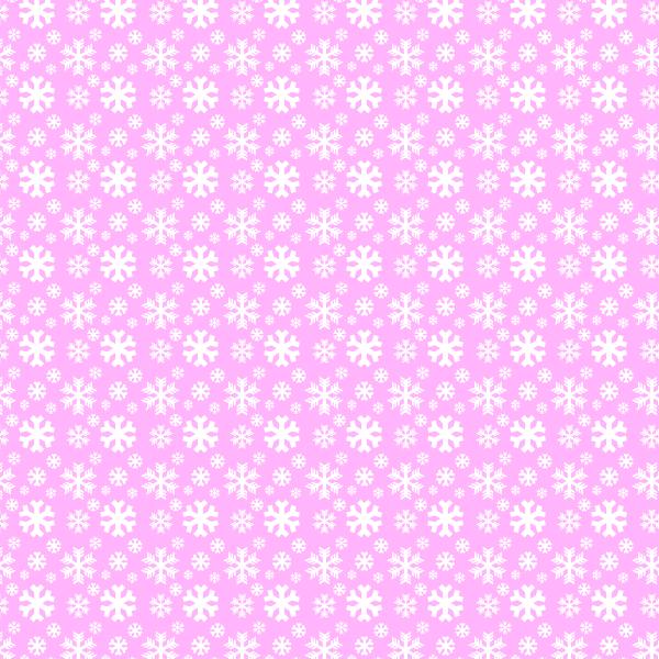 simple free winter snowflake pattern