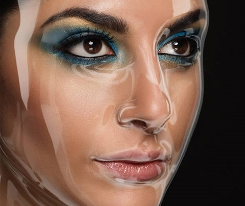 plastic face 80 best Photoshop tutorials from 2013