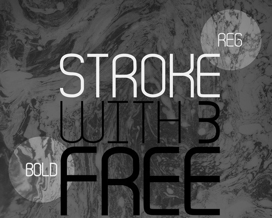 stroke thumb 50 Best Free Fonts From 2013