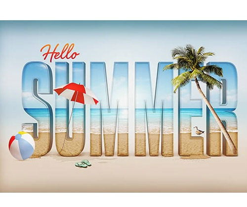 summer thumb 80 best Photoshop tutorials from 2013