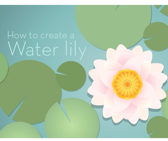 waterlilly thumb 100 best Illustrator tutorials from 2013