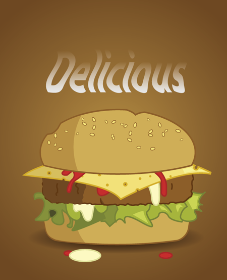 Cheeseburger 24 thumb The best design articles from 2013