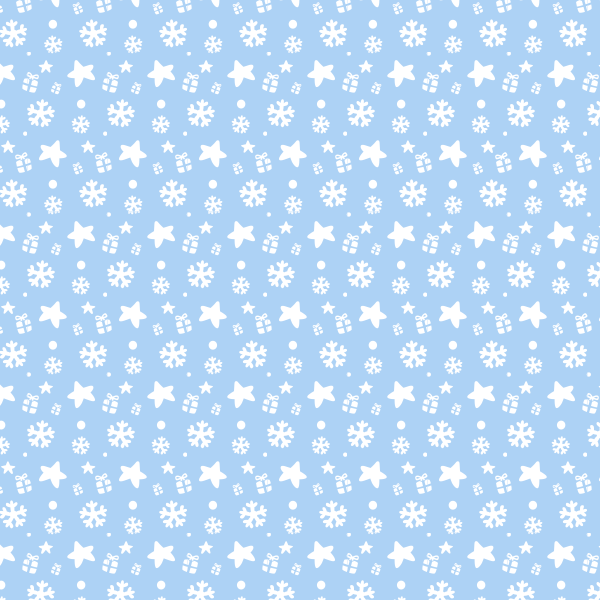Presents And Snowflakes Free Seamless Vector Pattern