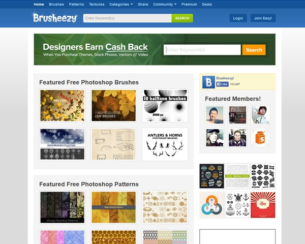 brusheezy 10 Best sites for discovering amazing free Photoshop brushes
