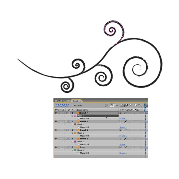 swirls thumb 20 Best tutorials for learning adobe After Effects