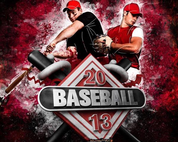 baseball thumb 60 Best Photoshop tutorials from 2014