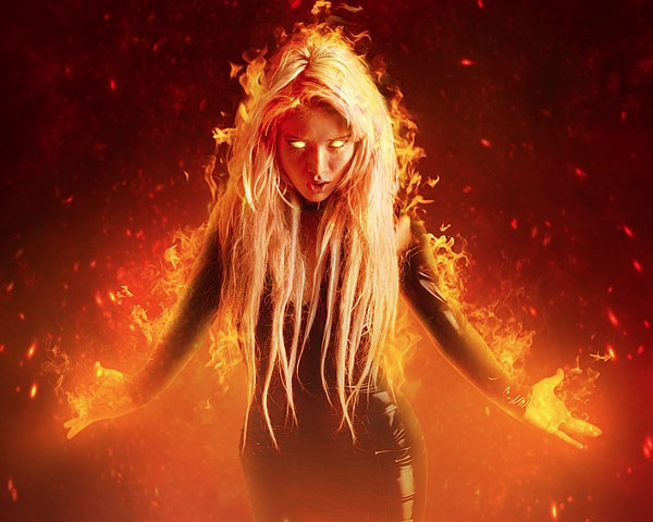 fiery portait thumb 60 Best Photoshop tutorials from 2014