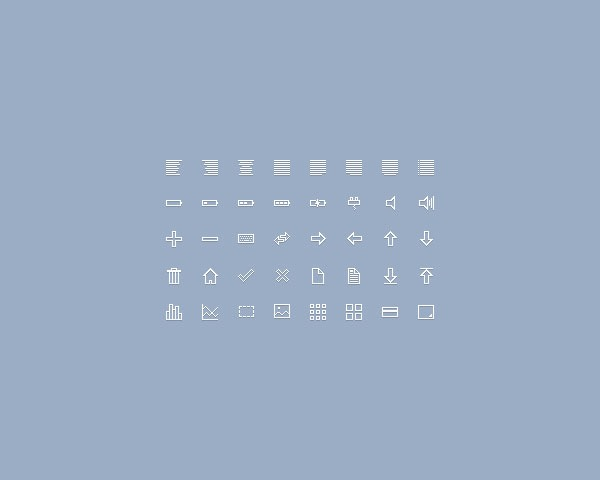 40 icon sets thumb 20 Free minimal icon sets