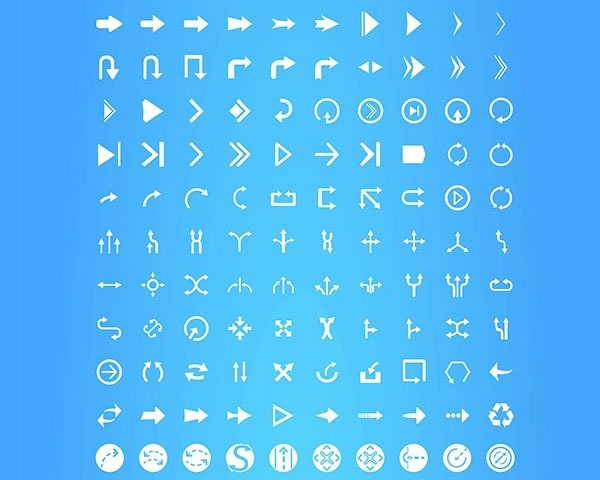 arrow icons thumb 20 Free minimal icon sets