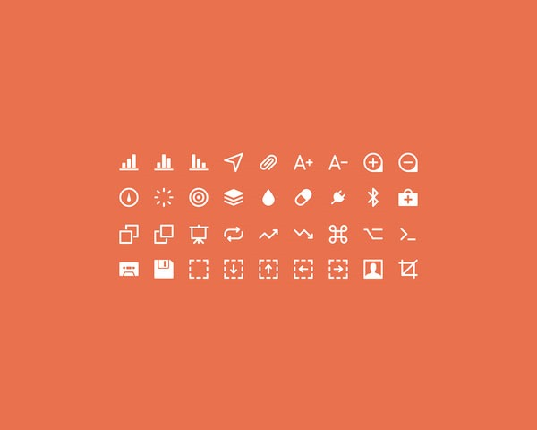 extra ikons thumb 20 Free minimal icon sets