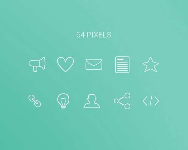 minmial icons thumb 20 Free minimal icon sets
