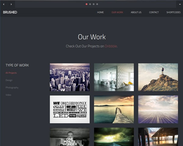 brushed 50 best free html responsive templates