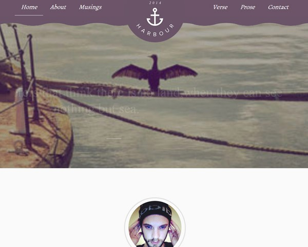 harbour thumb 50 best free html responsive templates