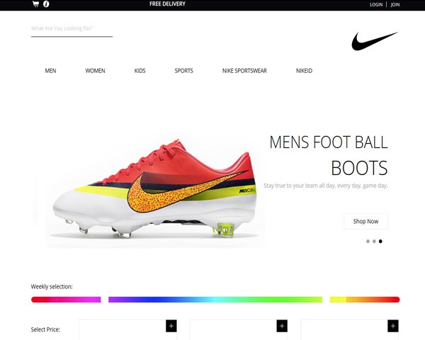 spike shoes thumb 50 best free html responsive templates