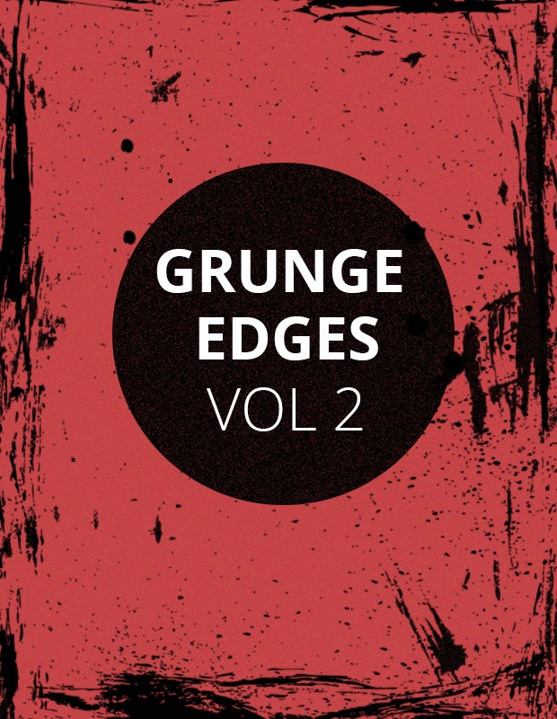 grundge edges thumb Grunge edges Photoshop brush set Vol 2
