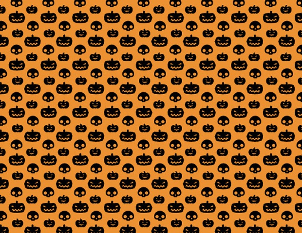 halloween pattern pumkin1 40 Essential free Halloween vectors and icons