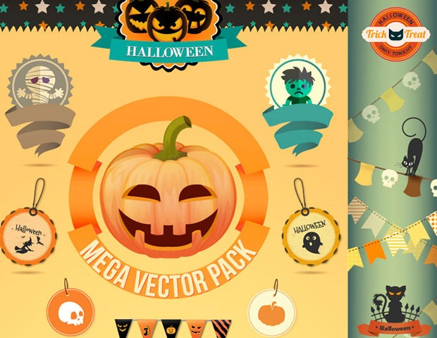 halloween resources8 40 Essential free Halloween vectors and icons