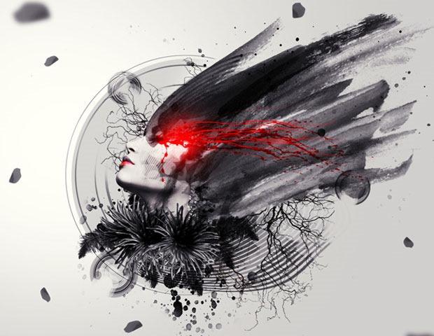 abstract illustrationn 60 Best Photoshop tutorials from 2014