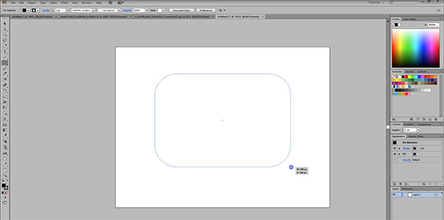 curved corners Quick tip: How to create curved corners in illustrator