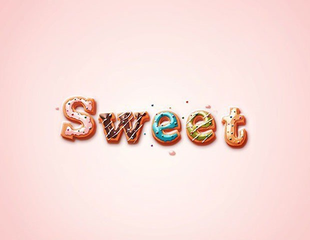 delicous donut thumb 60 Best Photoshop tutorials from 2014