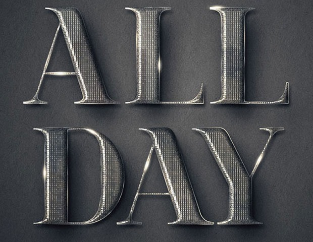 metal text thumb 60 Best Photoshop tutorials from 2014
